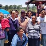 Foto: La jefa de Gobierno capitalina, Claudia Sheinbaum, encabeza un evento de entrega de apoyos a productores agrícolas en Topilejo, alcaldía de Tlalpan, junio 9 de 2019 (Twitter: @HildaEscalona6)