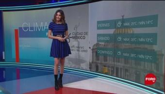 FOTO. Clima A las Tres con Daniela Álvarez del 6 de junio de 2019