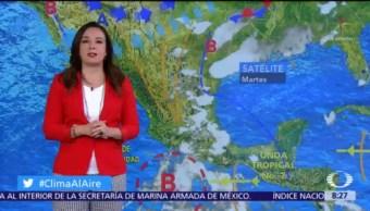 Clima Al Aire: Tormentas intensas en Michoacán, Guerrero y Oaxaca