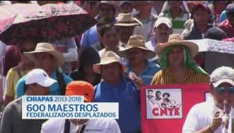 Foto: Cnte Desplaza Maestros Niegan Suspender Clases Movilizaciones 26 Junio 2019