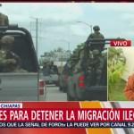 Foto: Comerciantes Protestan Operativos Guardia Nacional Frontera Sur 17 Junio 2019
