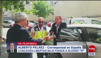 Concede España libertad bajo fianza a Alonso Ancira