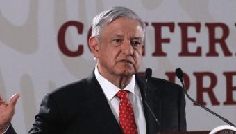 FOTO Transmisión en vivo: Conferencia de prensa AMLO 14 de junio 2019 (EFE)