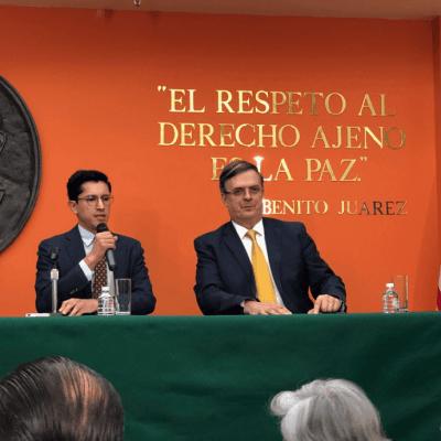 Situación migratoria no puede seguir igual, concede Marcelo Ebrard