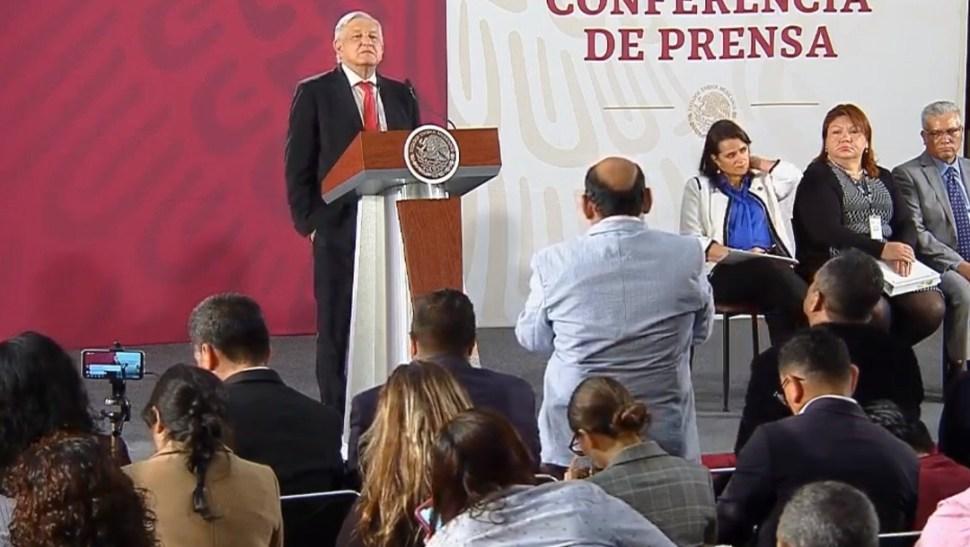 FOTO Transmisión en vivo: Conferencia de prensa AMLO 25 de junio 2019 (YouTube)