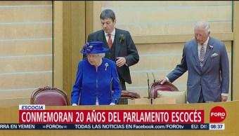 FOTO: Conmemoran 20 años del Parlamento escocés, 30 Junio 2019