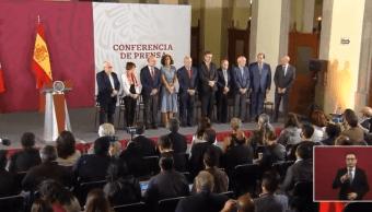Foto: Conmemoran aniversario de la llegada del exilio español a México,13 de junio de 2019, Ciudad de México