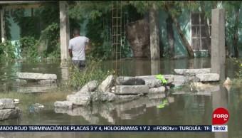 FOTO: Continúa la emergencia en Reynosa, Tamaulipas, tras inundaciones