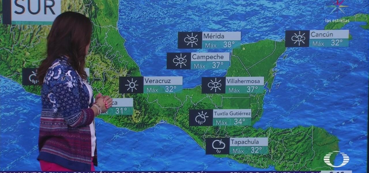 Continúa potencial de lluvias en gran parte de México
