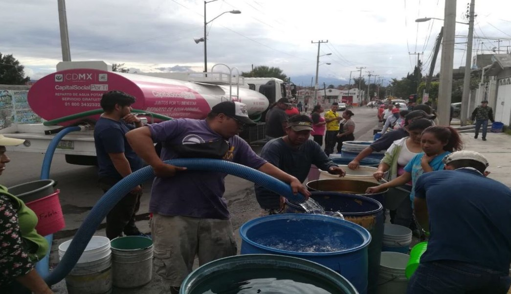 Foto Corte de agua afecta a Iztapalapa, Coyoacán y Tláhuac, CDMX 25 junio 2019