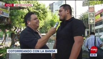FOTO: CotorreandoconlaBanda: 'El Repor' suelto en la CDMX