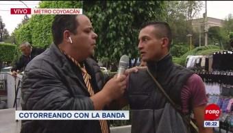 #CotorreandoconlaBanda: 'El Repor' suelto en metro Coyoacán