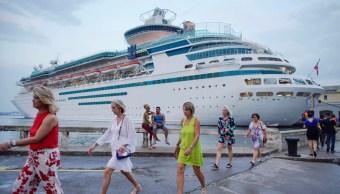 Foto: Crucero en Cuba, 28 de mayo de 2109, La Habana