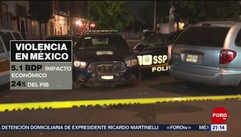 Foto: Cuánto Cuesta Violencia Anualmente México 14 Junio 2019