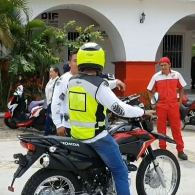 Oaxaca realiza curso para reducir accidentes viales de motociclistas