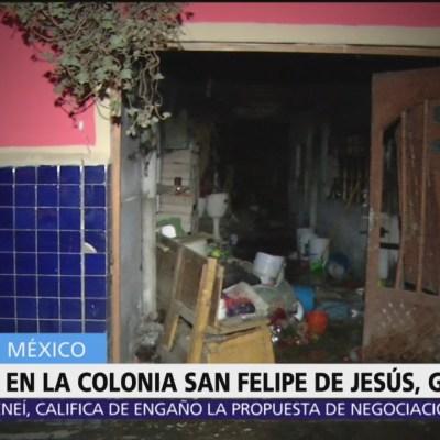 Delincuentes incendian casa con anciana dentro en la alcaldía GAM