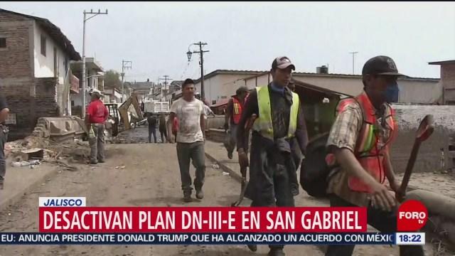 FOTO: Desactivan plan DN3-E en San Gabriel, Jalisco