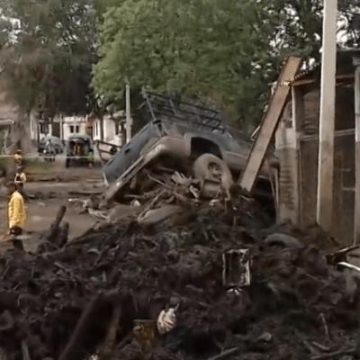 Desbordamiento de río en Jalisco destruye San Gabriel