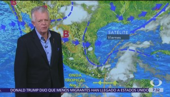 Despierta con Tiempo: Pronostican chubascos en la Ciudad de México
