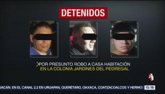 FOTO: Detienen a tres extranjeros en la alcaldía Álvaro Obregón, 16 Junio 2019