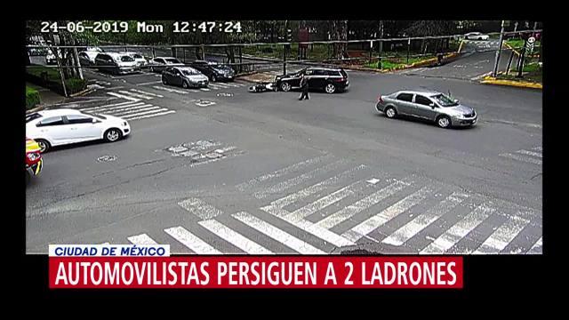Detienen a uno de los presuntos delincuentes que robó a cuentahabiente en Polanco, CDMX