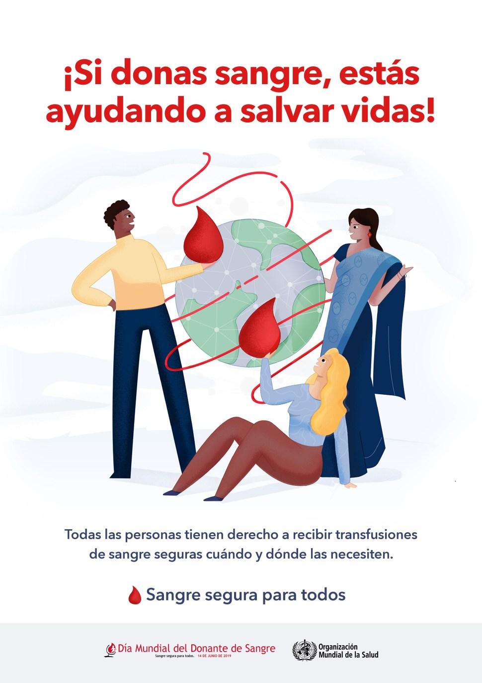 FOTO dia mundial del donante de sangre 14 JUNIO 2019