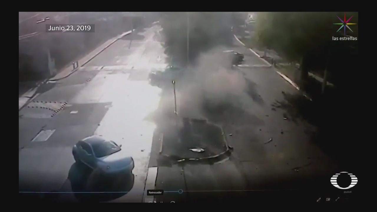 Foto: Video Momento Accidente Joao Maleck Jalisco 24 Junio 2019