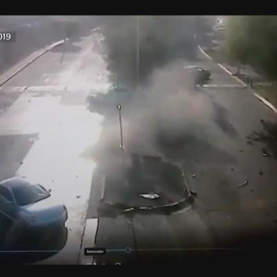 Difunden video del momento del accidente de Joao Maleck