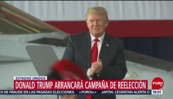 Foto: Donald Trump Arranca Reelección EU 18 Junio 2019