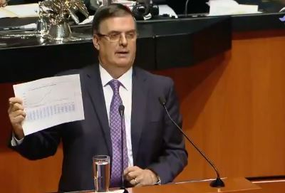 Marcelo Ebrard comparece ante Senado por acuerdos alcanzados con EU