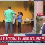 FOTO: Casillas instaladas en Aguascalientes suman el 76.6% , 2 Junio 2019