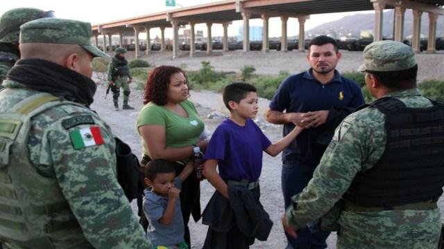 Foto Ejército vigila frontera norte de México contra migrantes 18 junio 2019