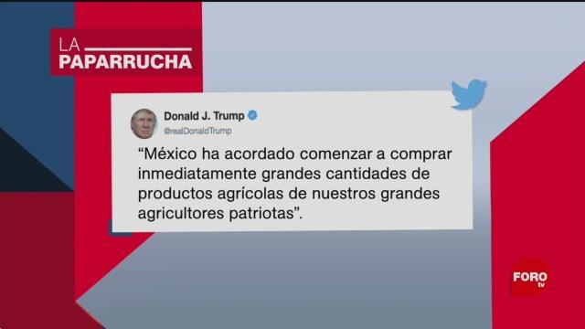 Foto: Acuerdo México EU Noticias Falsas 10 Junio 2019