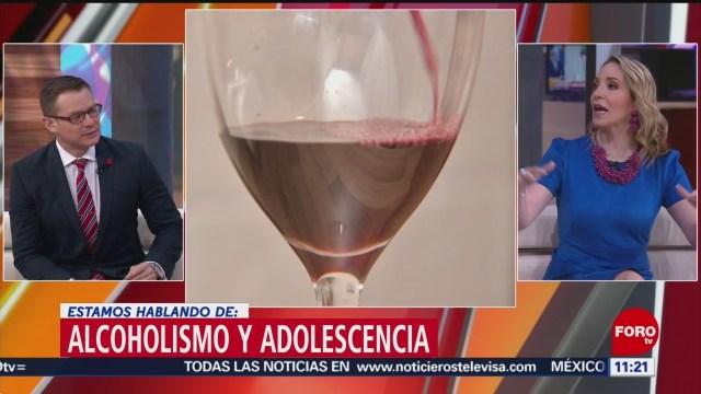 FOTO: El alcoholismo en los adolescentes