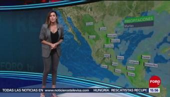 FOTO: El Clima 'A las Tres' con Daniela Álvarez del 11 de junio de 2019