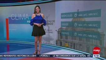 El Clima 'A las Tres' con Daniela Álvarez del 18 de junio de 2019