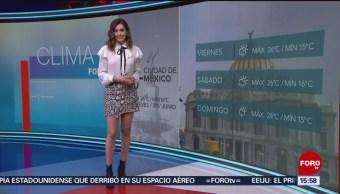 Foto: El Clima 'A las Tres' con Daniela Álvarez del 20 de junio de 2019