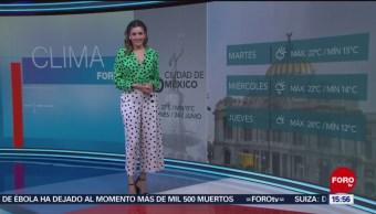 Foto: El Clima 'A las Tres' con Daniela Álvarez del 24 de junio de 2019