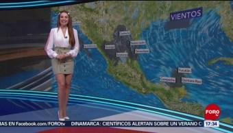 FOTO: El clima, con Mayte Carranco del 19 de junio de 2019