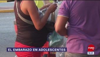 El embarazo en adolescentes