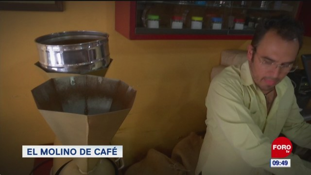 El molino de café