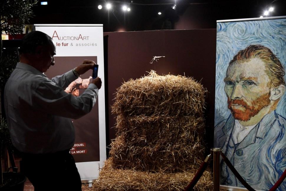 Foto: Revólver con el que Van Gogh se suicidó, 19 de junio de 2019, Paris