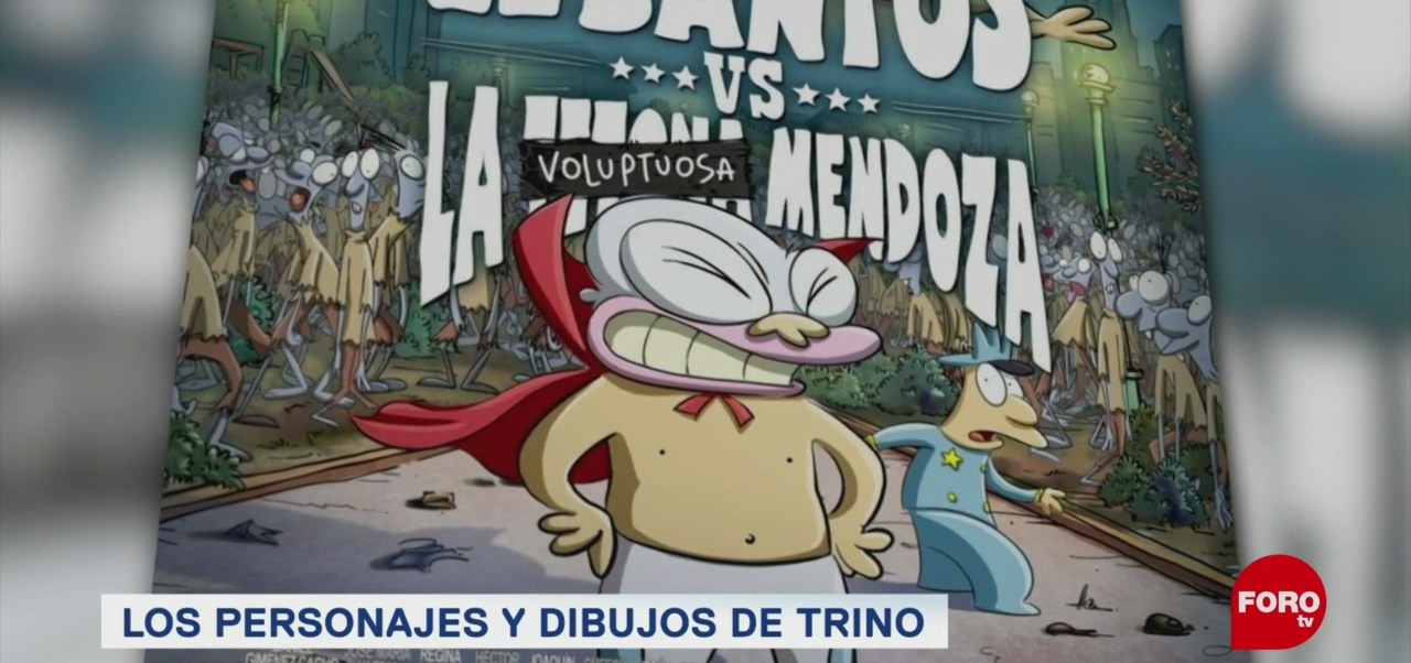Foto: Entrevista Trino Moneros México Caricaturas 7 Junio 2019