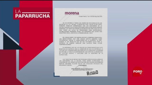 Foto: Elecciones Noticias Falsas Comunicado Morena 3 Junio 2019