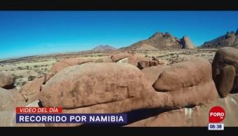 #ElVideodelDía: Recorrido por Namibia