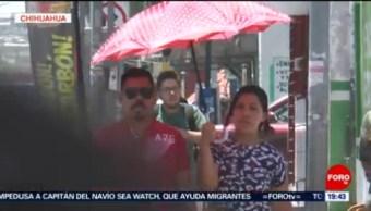 FOTO: Emiten alerta por ola de calor en Chihuahua, 29 Junio 2019