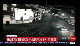 Encuentran restos humanos en Taxco, Guerrero