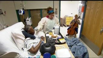 Foto: Enfermo en hospital de Estados Unidos, 11 de octubre de 2017, Washington