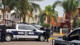 Foto: Al menos un muerto deja balacera en Tlajomulco, Jalisco, el 21 de junio de 2019 (Noticieros Televisa)