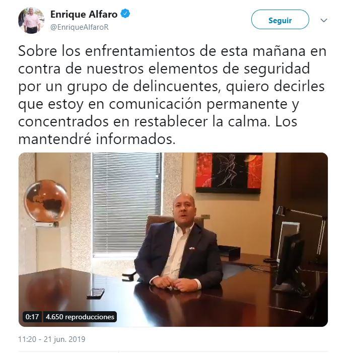Twitter @EnriqueAlfaroR